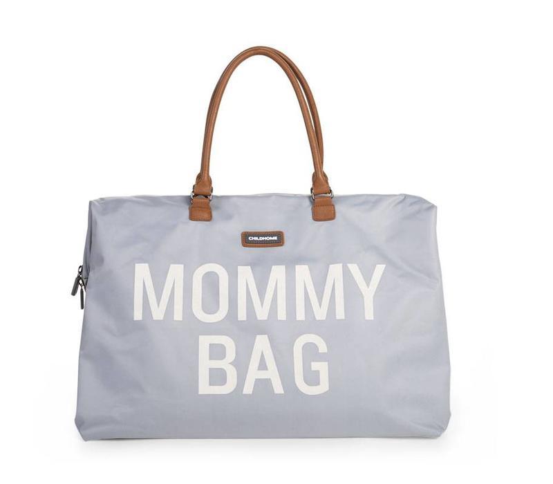 Mommy bag grey/off-white
