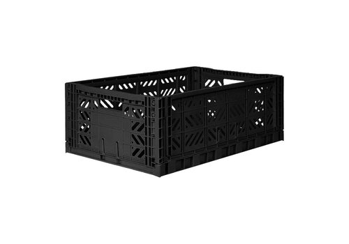 Aykasa Foldable crate maxi black