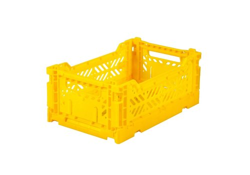 Aykasa Foldable crate mini yellow