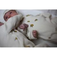 New born onesie lemon