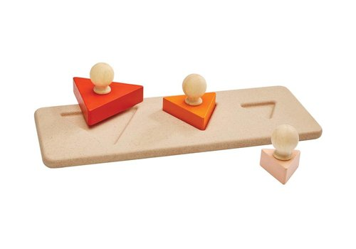 PlanToys Driehoek vorm puzzel