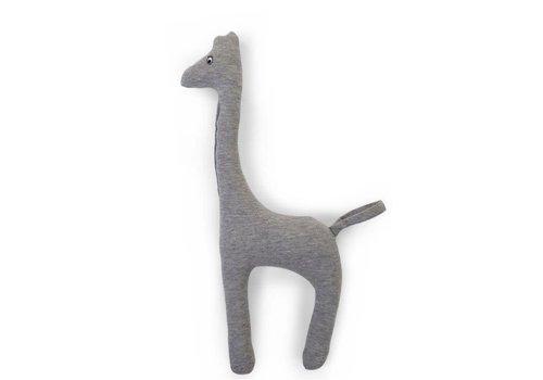 Childhome Baby giraffe jersey grey