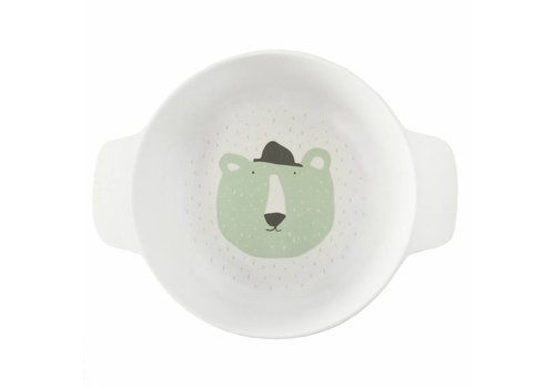 Trixie Baby Bowl with handles Mr. Polar Bear