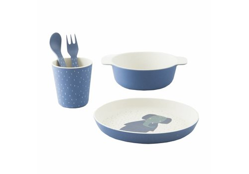Trixie Baby Tableware gift set Mrs. Elephant