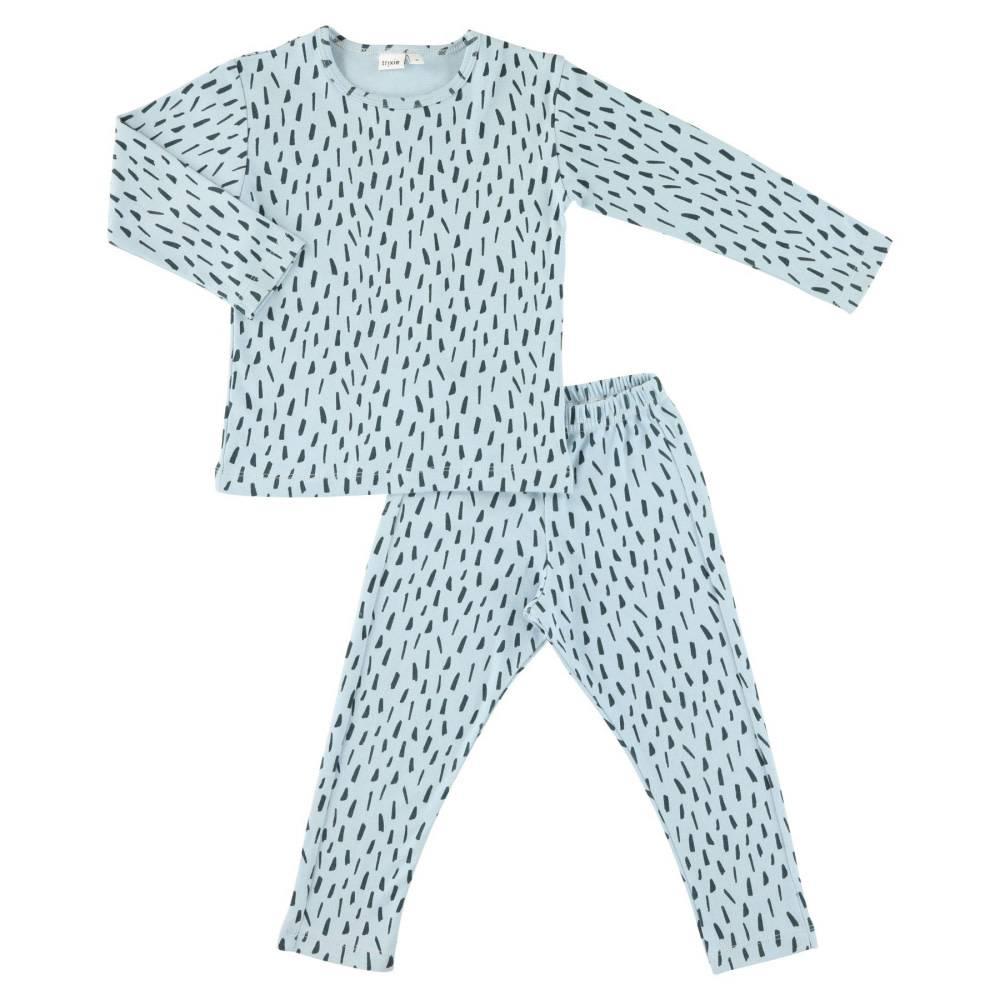 Trixie Baby • Pyjama 2 pieces Blue Meadow - Atelier BéBé 9936d9b10