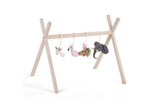 Childhome Gym toys animal head 4st