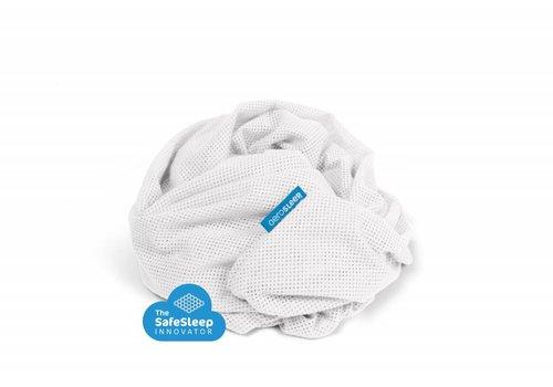 AeroSleep Sleep Safe Fitted Sheet 90x50cm White