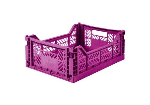 Aykasa Foldable crate midi purple