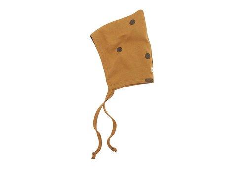 Organic Zoo Spice dots pixie bonnet