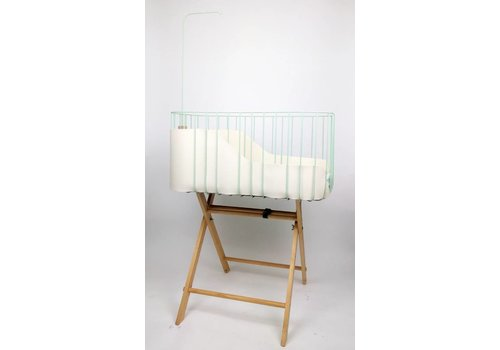 &me Baby crib mint/ white