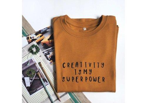 Organic Zoo Spice sweatshirt mama Creativity