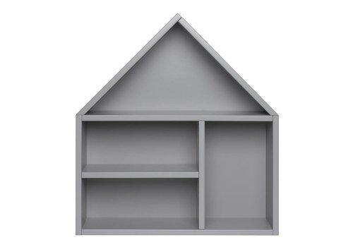 Coming Kids Scandi house shelf 55x60cm grey