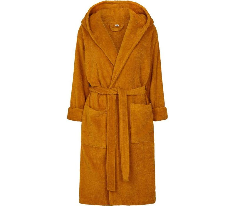Laila mommy bathrobe Mustard