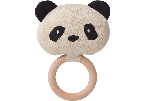 Liewood Aria rattle Panda beige beauty
