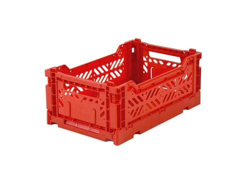 Aykasa Foldable crate mini red