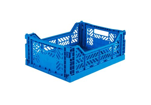 Aykasa Foldable crate midi blue