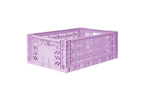 Aykasa Foldable crate maxi orchid