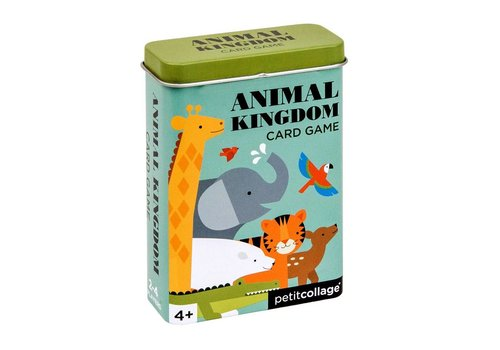 Petit Collage Card game - Animal kingdom