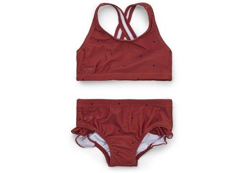 Liewood Juliet bikini Classic dot rusty