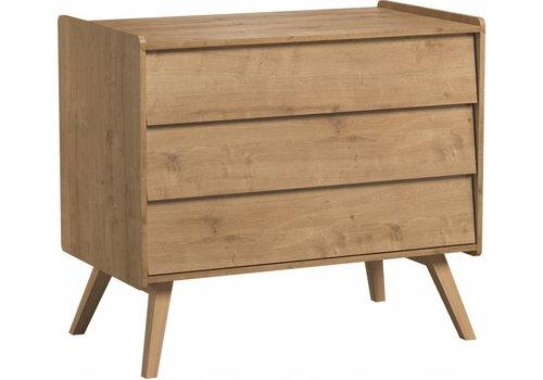 Vox VINTAGE Dresser with 3 drawers oak