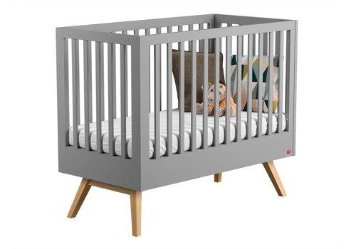 Vox NAUTIS Cot bed II 60x120 light grey/oak