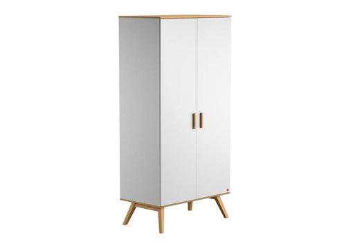 Vox NAUTIS 2-door wardrobe white/oak