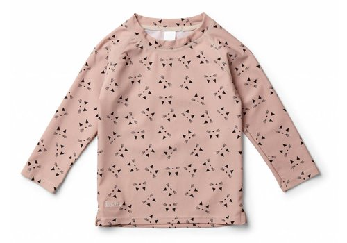 Liewood Noah swim tee Cat rose