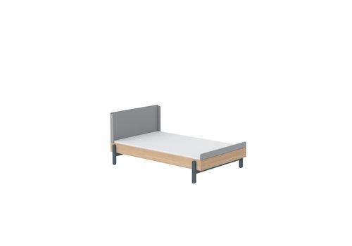 Flexa POPSICLE Bed 120cm oak/blueberry