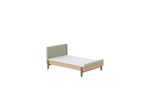 Flexa POPSICLE Bed 120cm oak/kiwi