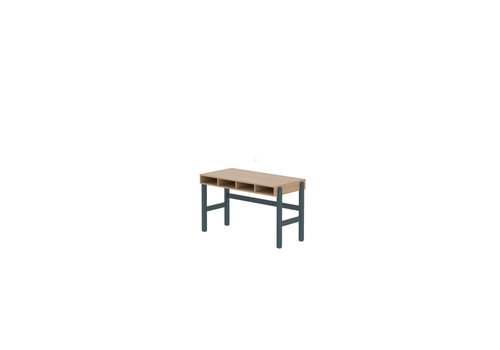 Flexa POPSICLE Desk oak/blueberry