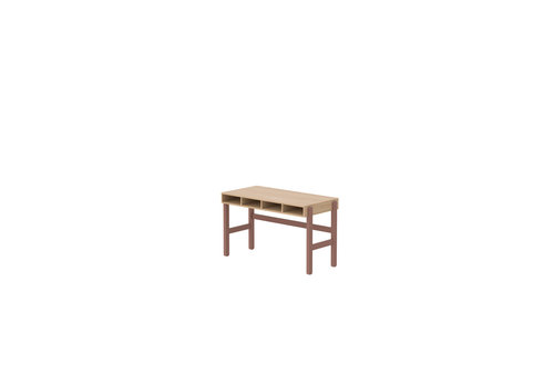 Flexa POPSICLE Desk oak/cherry