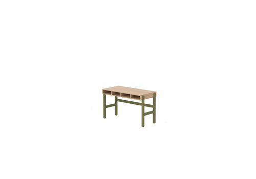 Flexa POPSICLE Desk oak/kiwi