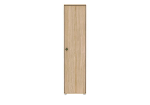 Flexa POPSICLE High wardrobe single oak/kiwi