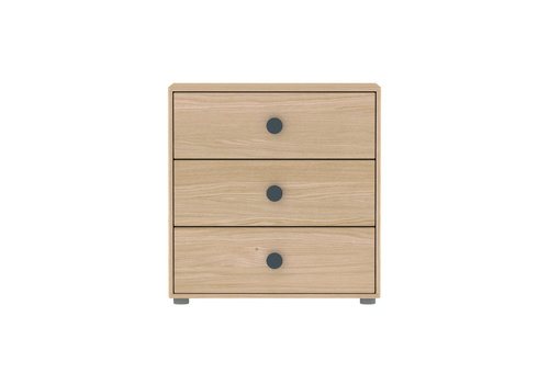 Flexa POPSICLE Chest of drawers oak/blueberry