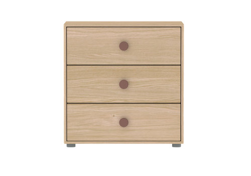 Flexa POPSICLE Chest of drawers oak/cherry
