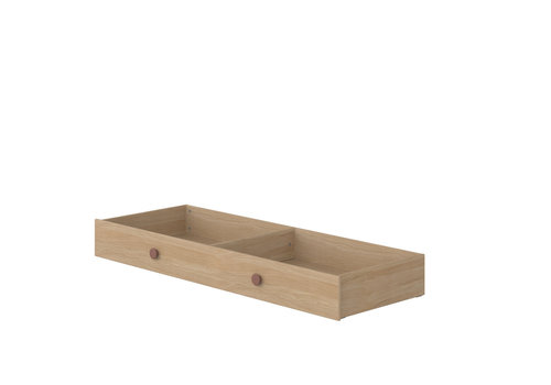 Flexa POPSICLE Underbed drawer for single/bunk bed oak/cherry