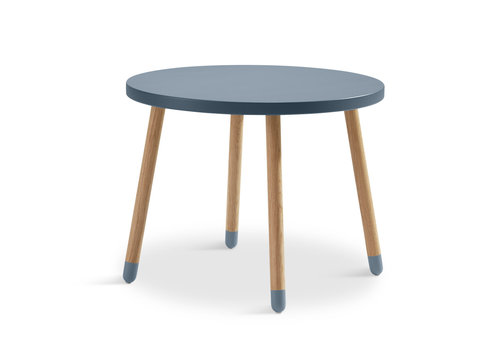 Flexa POPSICLE Children's table round blueberry
