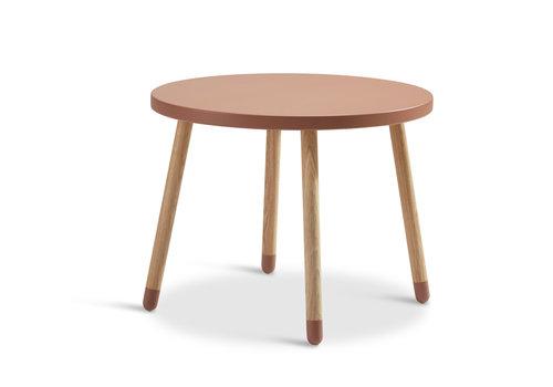 Flexa POPSICLE Kindertafel rond cherry