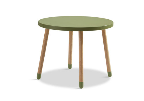 Flexa POPSICLE Children's table round kiwi