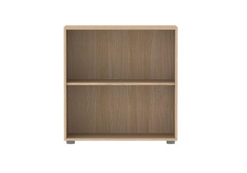 Flexa POPSICLE Bookcase 1 shelf oak