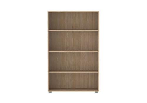 Flexa POPSICLE Bookcase 3 shelves oak