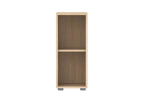 Flexa POPSICLE Narrow bookcase 1 shelf oak