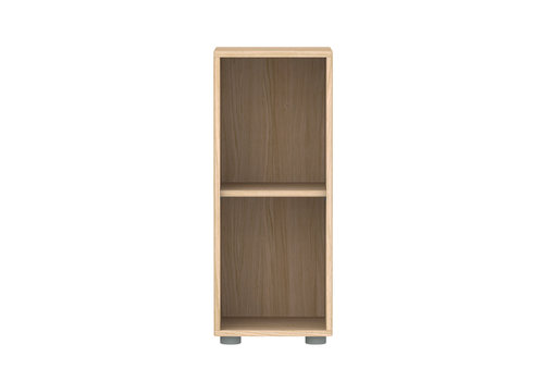 Flexa POPSICLE Smalle boekenkast 1 plank oak