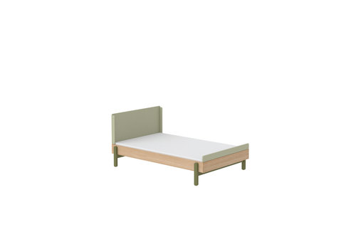 Flexa POPSICLE Bed 140cm oak/kiwi
