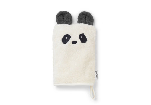 Liewood Wash cloth Panda creme de la creme 1st