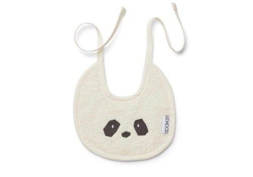 Liewood Slabbetje terry Panda creme de la creme