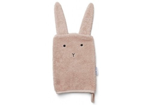 Liewood wash cloth Rabbit rose 1st