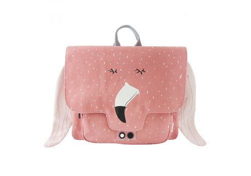 Trixie Baby Satchel Mrs. Flamingo