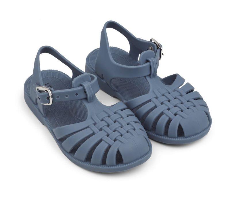Sindy sandals blue wave