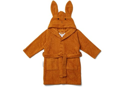 Liewood Bathrobe Lily Rabbit Mustard